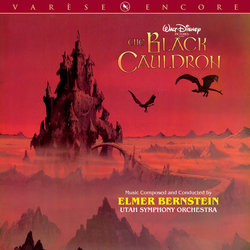 The Black Cauldron Soundtrack (Elmer Bernstein) - Carátula