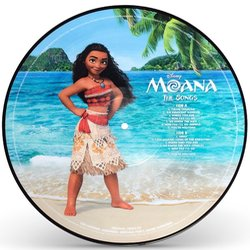 Moana Soundtrack (Opetaia Foa'i, Mark Mancina, Lin-Manuel Miranda) - CD Back cover