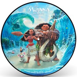 Moana Soundtrack (Opetaia Foa'i, Mark Mancina, Lin-Manuel Miranda) - CD cover