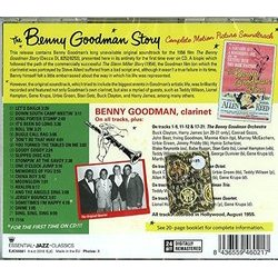 The Benny Goodman Story Soundtrack (Benny Goodman , Henry Mancini) - CD Back cover