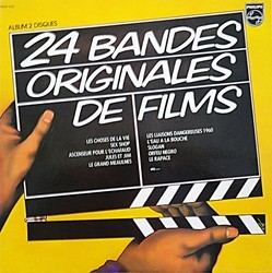 24 Bandes Originales de Films Soundtrack (Various Artists) - Carátula