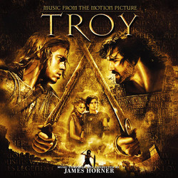 Troy Soundtrack (James Horner) - CD cover