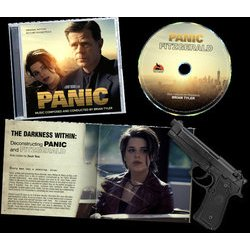 Panic / Fitzgerald Soundtrack (Brian Tyler) - cd-inlay
