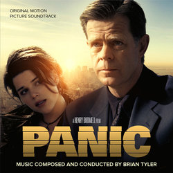 Panic / Fitzgerald Soundtrack (Brian Tyler) - CD cover