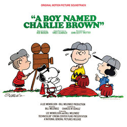 A Boy Named Charlie Brown Soundtrack (Vince Guaraldi, Rod McKuen, John Scott Trotter) - CD cover