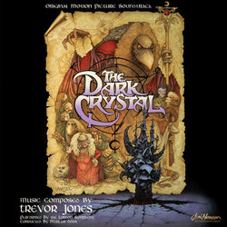 The Dark Crystal Soundtrack (Trevor Jones) - CD cover