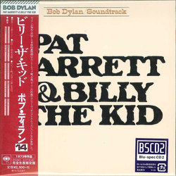 Pat Garrett & Billy the Kid Soundtrack (Bob Dylan) - CD cover