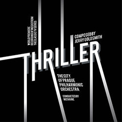 Thriller Soundtrack (Jerry Goldsmith) - CD cover