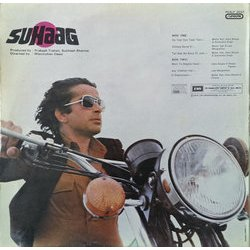 Suhaag Soundtrack (Various Artists, Anand Bakshi, Laxmikant Pyarelal) - CD Back cover