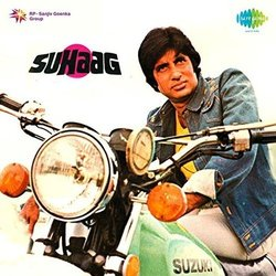 Suhaag Soundtrack (Various Artists, Anand Bakshi, Laxmikant Pyarelal) - CD cover