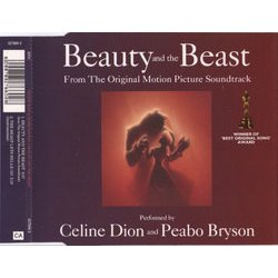 Beauty and the Beast Soundtrack (Peabo Bryson, Céline Dion, Alan Menken) - CD-Inlay