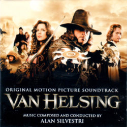 Van Helsing Soundtrack (Alan Silvestri) - CD cover