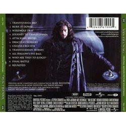 Van Helsing Soundtrack (Alan Silvestri) - CD Back cover