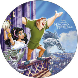 Songs From The Hunchback Of Notre Dame Soundtrack (Alan Menken) - CD Back cover