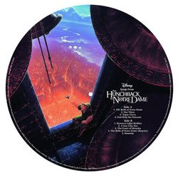 Songs From The Hunchback Of Notre Dame Soundtrack (Alan Menken) - CD cover