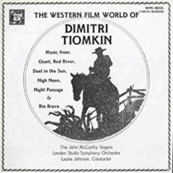 The Western Film World of Dimitri Tiomkin Bande Originale (Dimitri Tiomkin) - Pochettes de CD