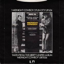 Midnight Cowboy Soundtrack (John Barry) - CD Trasero