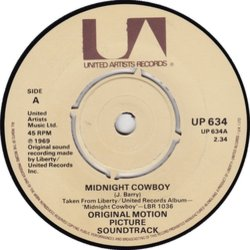 Midnight Cowboy Soundtrack (John Barry) - cd-carátula