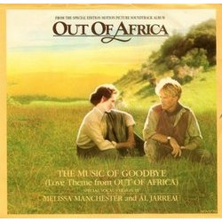 Out of Africa Colonna sonora (Marilyn & Alan Bergman, John Barry, Alan Bergman, Al Jarreau, Melissa Manchester) - Copertina del CD