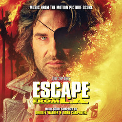 Escape from L.A. Soundtrack (John Carpenter, Shirley Walker) - CD cover