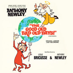 The Good Old Bad Old Days Soundtrack (Leslie Bricusse, Anthony Newley) - CD cover