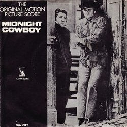 Midnight Cowboy Soundtrack (John Barry) - CD Back cover