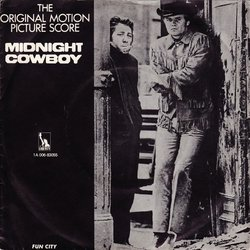 Midnight Cowboy Soundtrack (John Barry) - CD cover