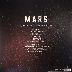 Mars Soundtrack (Nick Cave, Warren Ellis) - CD Back cover