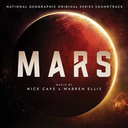 Mars Soundtrack (Nick Cave, Warren Ellis) - CD cover