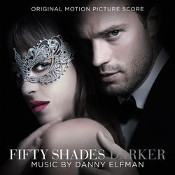 Fifty Shades Darker Soundtrack (Danny Elfman) - CD cover