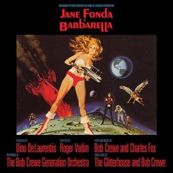 Barbarella Soundtrack (Charles Fox) - CD cover