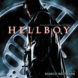 Hellboy Soundtrack (Marco Beltrami) - CD cover