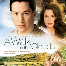 A Walk in the Clouds Soundtrack (Maurice Jarre) - CD cover