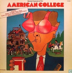 American College Soundtrack (Various Artists, Elmer Bernstein) - CD cover