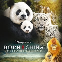 Born in China Soundtrack (Barnaby Taylor) - CD cover