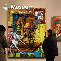 Museum Soundtrack (Marc-Olivier Dupin) - CD cover