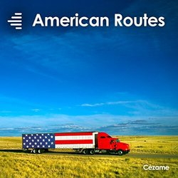 American Routes Soundtrack (Various Artists) - CD cover