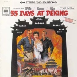 55 Days at Peking Soundtrack (Dimitri Tiomkin) - Car�tula