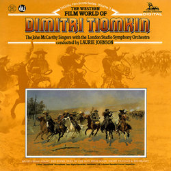 The Western Film World of Dimitri Tiomkin 声带 (Dimitri Tiomkin) - CD封面