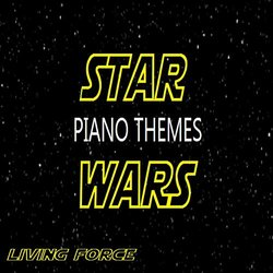 Star Wars Piano Themes Soundtrack (LivingForce , John Williams) - Carátula