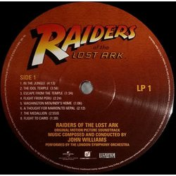 Raiders Of The Lost Ark 聲帶 (John Williams) - CD後蓋