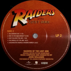 Raiders Of The Lost Ark 聲帶 (John Williams) - CD-鑲嵌