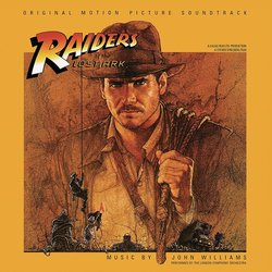 Raiders Of The Lost Ark 聲帶 (John Williams) - CD封面