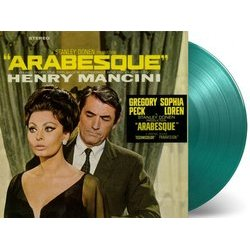 Arabesque Soundtrack (Henry Mancini) - cd-inlay