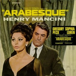 Arabesque Soundtrack (Henry Mancini) - CD cover