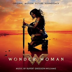 Wonder Woman Soundtrack (Rupert Gregson-Williams) - CD cover