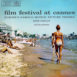 Film Festival At Cannes Soundtrack (Various Artists, Eddie Barclay) - CD cover