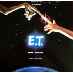 E.T. the Extra-Terrestrial Soundtrack (John Williams) - Carátula
