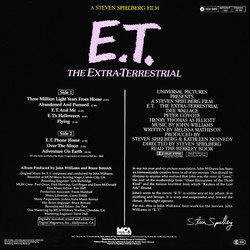 E.T. the Extra-Terrestrial Soundtrack (John Williams) - CD Trasero