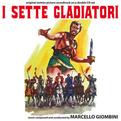 I Sette gladiatori Soundtrack (Marcello Giombini) - CD cover